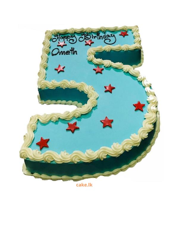 Number Five Cake 1.5kg