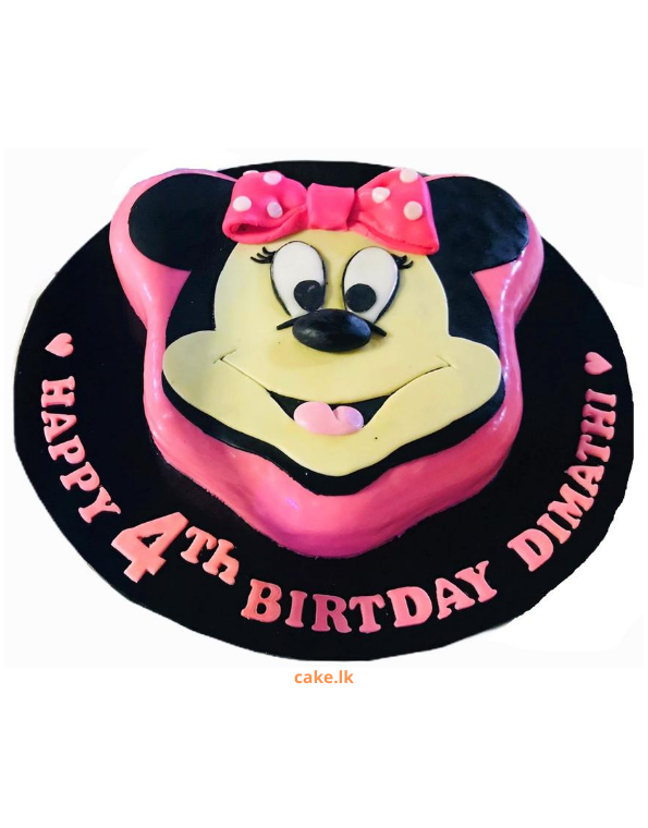 Cute Minnie Mouse Cake 1.5kg