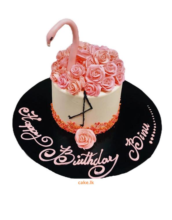 Flamingo Bird Cake 1.5kg