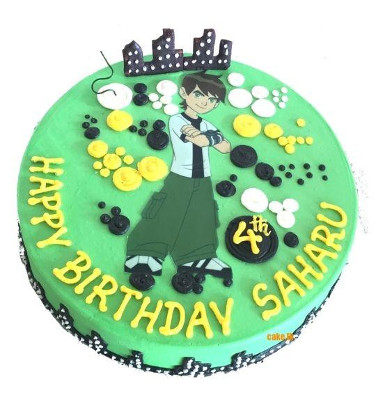 Birthday Cake Ben Ten 2Kg