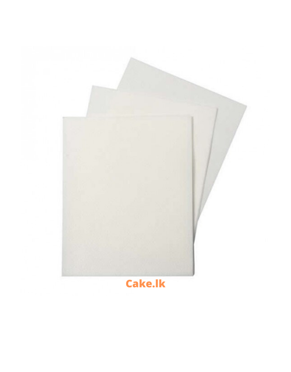 Wafer Paper Pack of 50 Sheets (0.65mm)