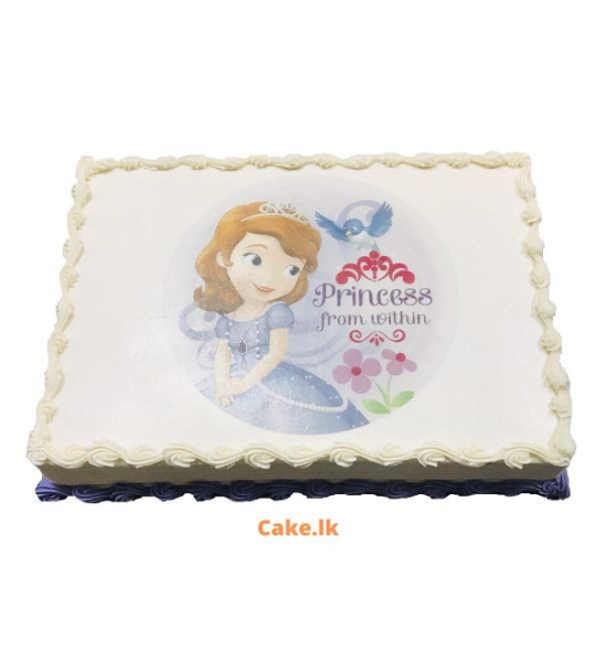 Princess from within cake 2Kg