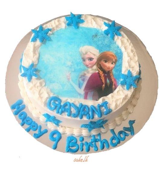 Print Cake Frozen 2Kg