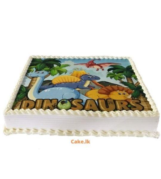 Dinosaurs Print Cake 2kg