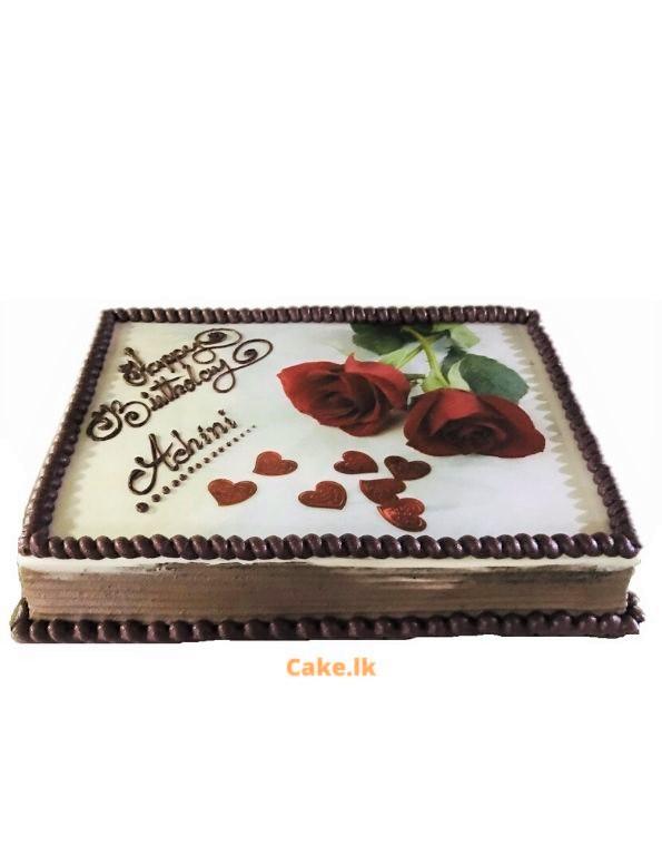 Print Cake Roses 2kg