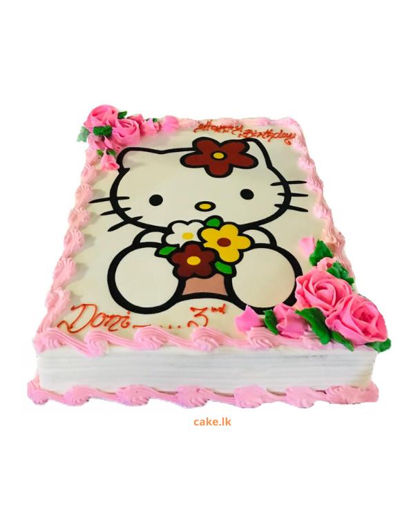 Hello Kitty Print Cake 2kg