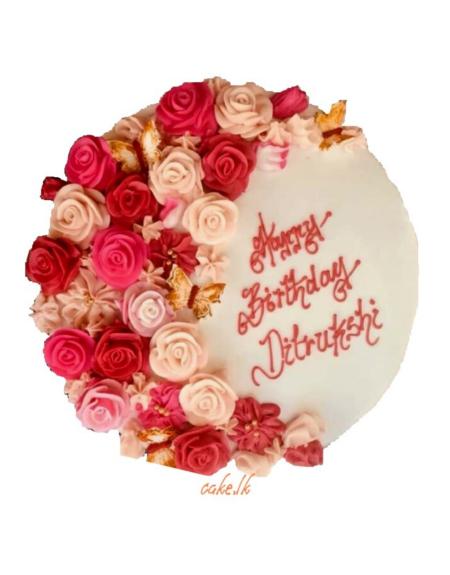 Flower Garden Cake 1.5kg