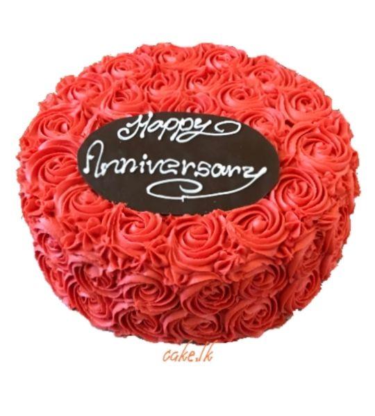 Red Rose Cake 1.5kg